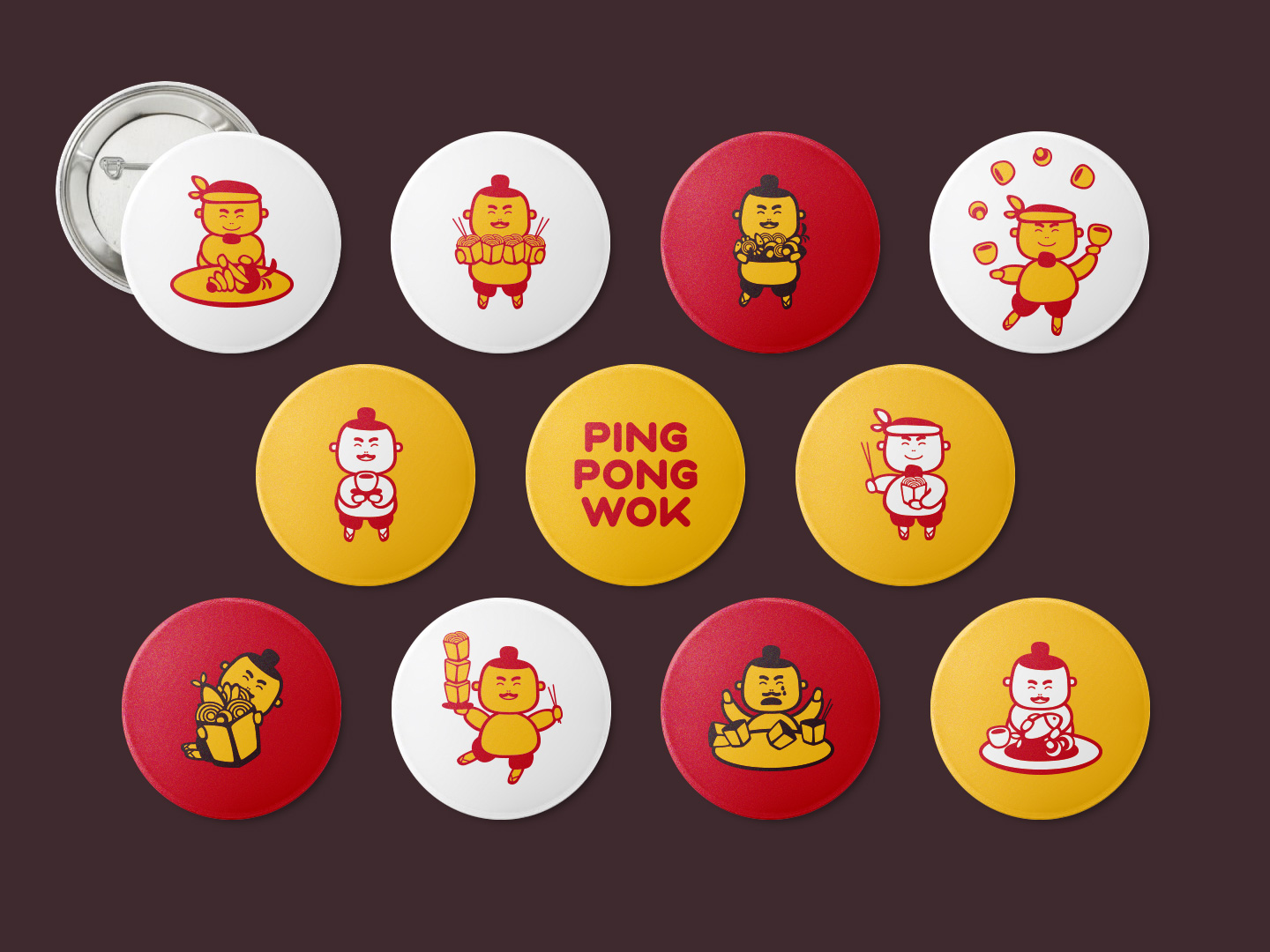pingpong badges